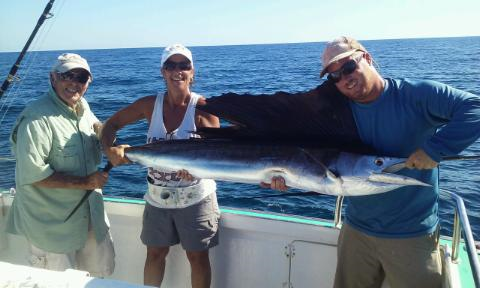 Sailfishing report dec 16 2015 mad son fishing west for Fishing charters west palm beach